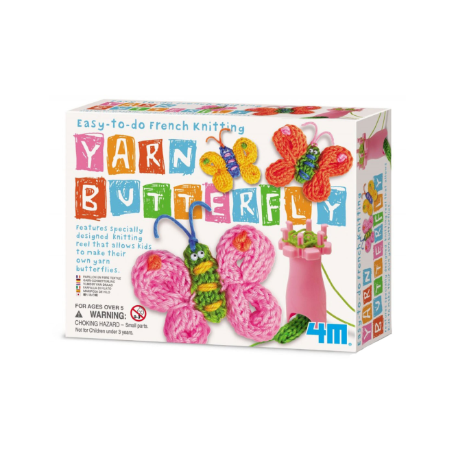 4M French Knitting Butterfly