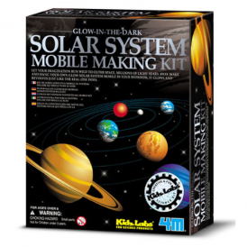 Great Gizmos - Kids Labs - Solar System Mobile Making Kit
