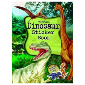 Alligator Books Sticker Book Amazing Dinosaur