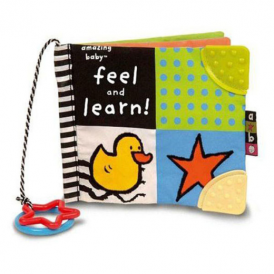 Amazing Baby Feel & Learn Soft Book