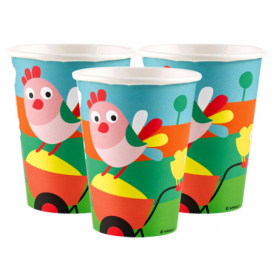 Amscan Farm Fun Cups