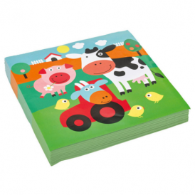 Amscan Farm Fun Napkins