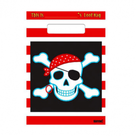 Amscan Pirate Skull Party Party Bags