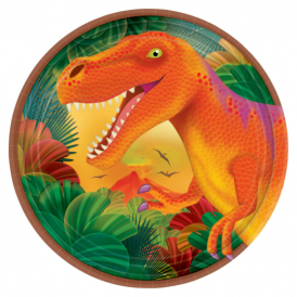 Amscan Prehistoric Party Dessert Plates