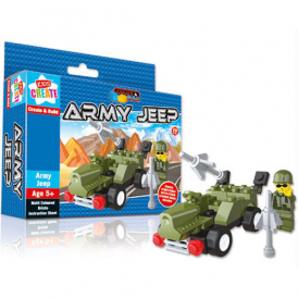 Anker Create And Build Army Jeep