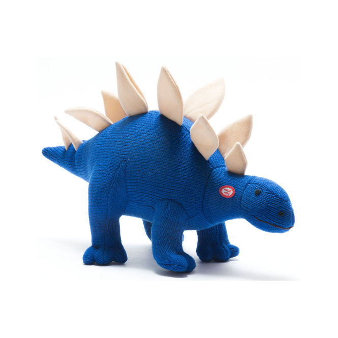 Best Years Knitted Large Roaring Stegosaurus