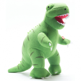 Best Years Knitted Large Roaring T Rex