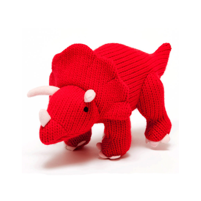 Best Years Knitted Large Triceratops