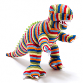 Best Years Knitted T Rex Striped