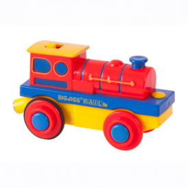 Big Jigs Battery Operated Engine Red/Blue/Yellow