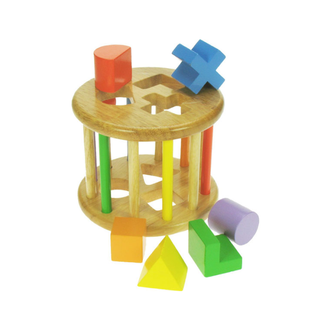 Big Jigs First Rolling Shape Sorter