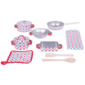 Big Jigs Kitchenware Set Spotted