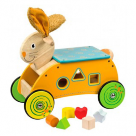 Big Jigs Ride On Toy Bunny