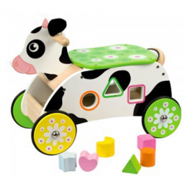 Big Jigs Ride On Toy Cow