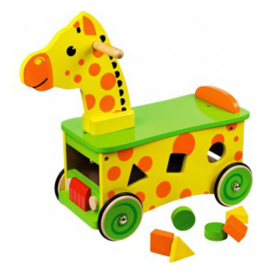 Big Jigs Ride On Toy Giraffe