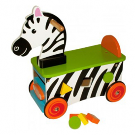 Big Jigs Ride On Toy Zebra