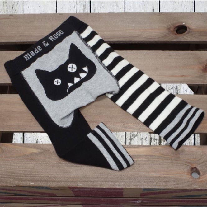 3beb5f85f5c25 Blade & Rose Leggings Crazy Cat - Baby Clothes from Soup Dragon UK