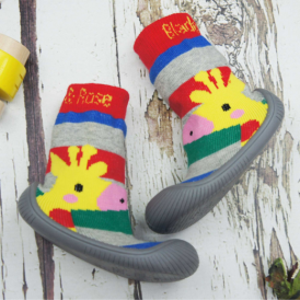 Blade & Rose Sock Shoes Giraffe