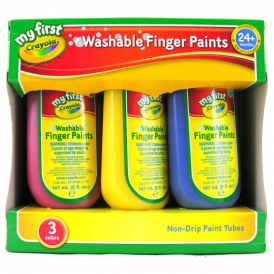 Crayola 3 Washable Finger Paint