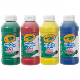 Crayola 4 pk Washable Paint