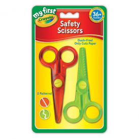 Crayola Safety Scissors 2 pack