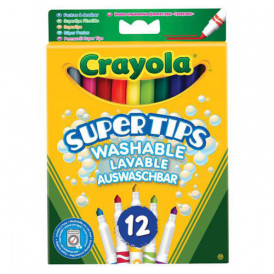 Crayola Supertips 12 Washable Markers
