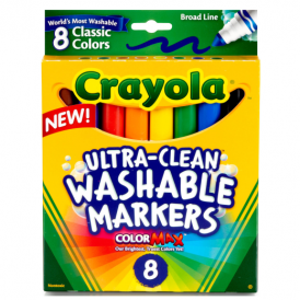 Crayola Washable Markers Ultra Clean