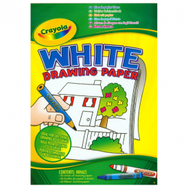 Crayola White Drawing Paper