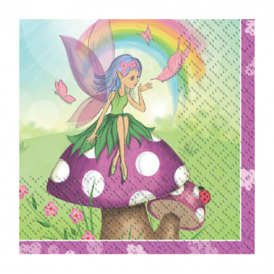 Creative Party Fancy Fairy Napkins Small