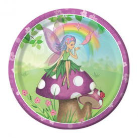 Creative Party Fancy Fairy Plates Large