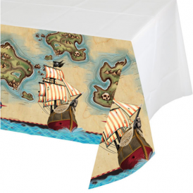 Creative Party Pirate Map Tablecloth