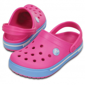 Crocs Kids Crocbands Magenta/Bluebell