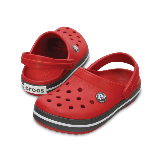 Crocs Kids Crocbands Pepper/Graphite