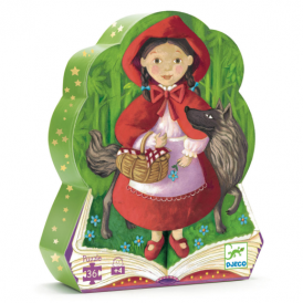 Djeco 36pc Puzzle Little Red Riding Hood