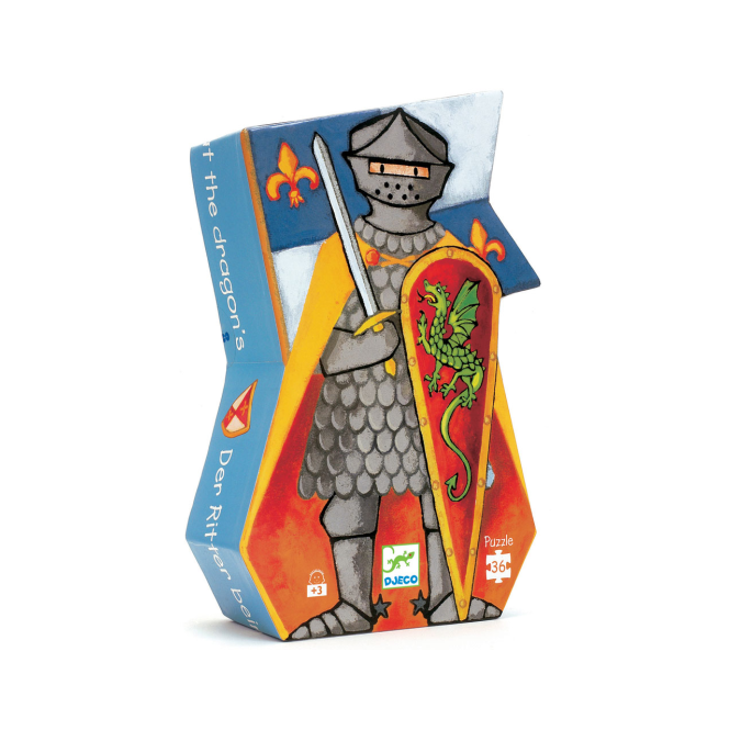 Djeco 36pc Puzzle The Knight at the Dragons