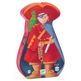 Djeco 36pc Puzzle The Pirate and his Treasure
