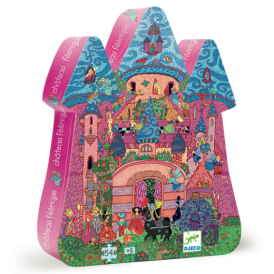 Djeco 54pc Puzzle The Fairy Castle