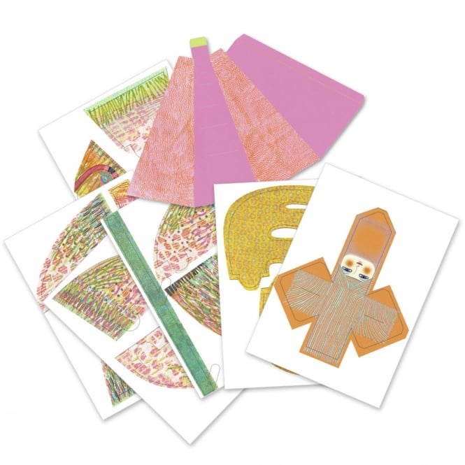 Djeco Arty Paper Miss Bliss