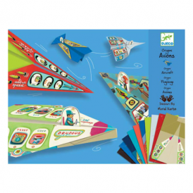 Djeco Craft Kit Origami Aircraft