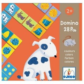 Djeco Domino Coloured Animals