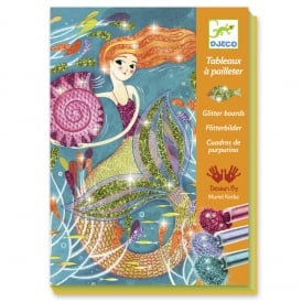 Djeco Glitter Boards Mermaids Lights
