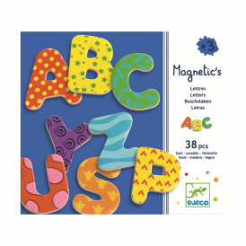 Djeco Magnetics 38 Fancy Letters