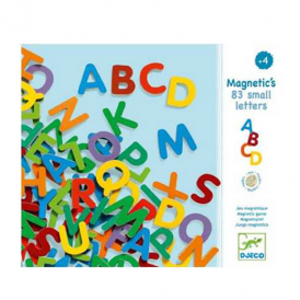 Djeco Magnetics 83 Small Letters