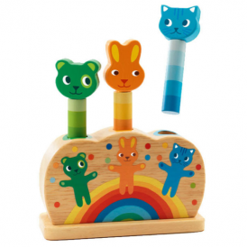 Djeco Pop Up Toy Pipop Pidoo