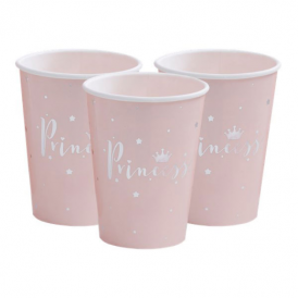 Ginger Ray Princess Perfection Cups