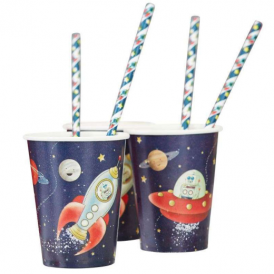 Ginger Ray Space Adventure Cups