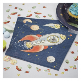 Ginger Ray Space Adventure Napkins