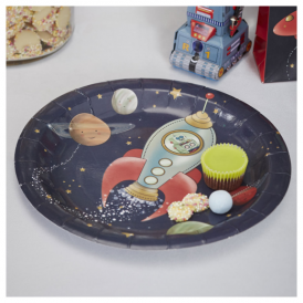 Ginger Ray Space Adventure Plates