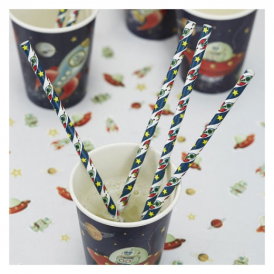 Ginger Ray Space Adventure Straws