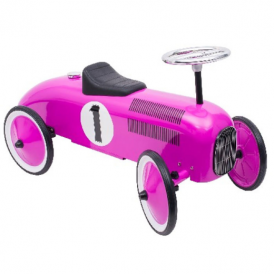 Goki Ride On Vehicle Purple Racing Car
